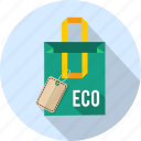 bag, box, eco, sale, shop, shopping, tag icon