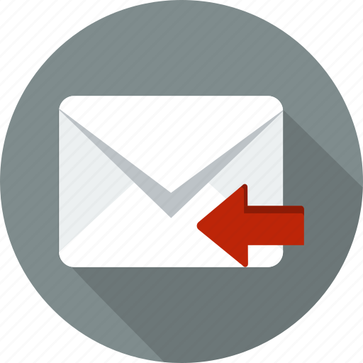 address, communication, envelope, letter, mail, message, web icon