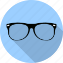 frame, glasses, lens, medical, nerd, see, sunglasses icon