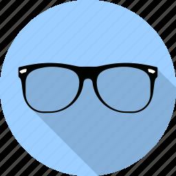 frame, glasses, lens, medical, nerd, see, sunglasses icon