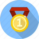 award, badge, decoration, medal, prize, trophy, winner