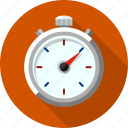 chronometer, clock, event, measurement, stop, stopwatch, watch icon