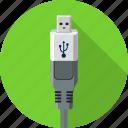 cable, cord, internet, mini usb, plug, universal, usb