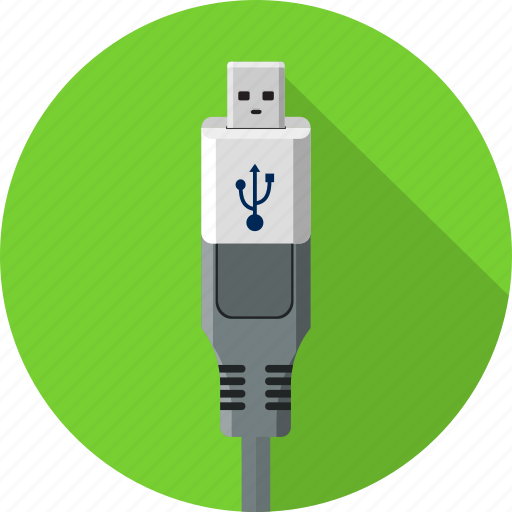 cable, cord, internet, mini usb, plug, universal, usb icon