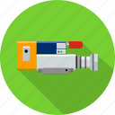 camera, communication, film, media, movie, multimedia, tool icon