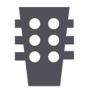 audio, band, flamenco, guitar, music, rock, sound icon