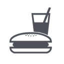burguer, chain, eating, fast food, restaurant icon