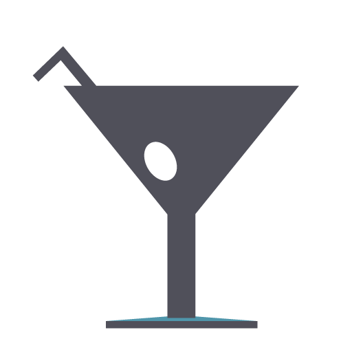 cocktail, disco, drink, martini, shot icon