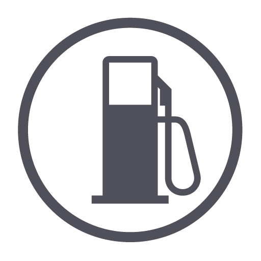 fuel, gas, gasoline, oil, station icon