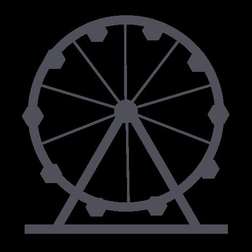 amusement, holiday, park, theme, wheel icon