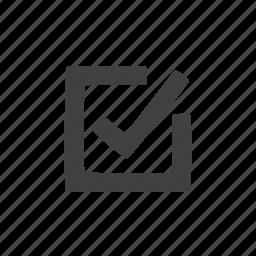 check, checkmark, mark icon