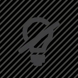 bulb, electric, energy, idea icon