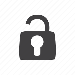 padlock, privacy, safety, security icon