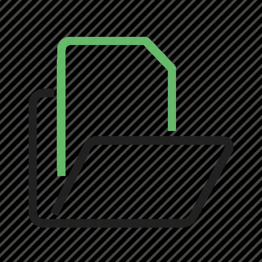 data, file, folder, manager, storage icon