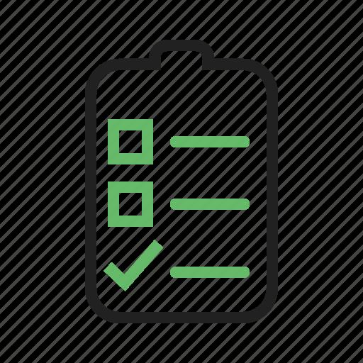 catalogue, checklist, list, order icon