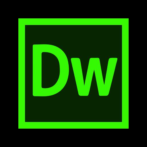 adobe, app, dreamweaver, web icon