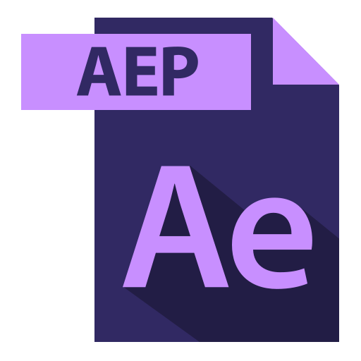 adobe, aep, aep extention, extention, file format icon