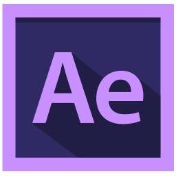 adobe, after effects, after effects logo, design icon