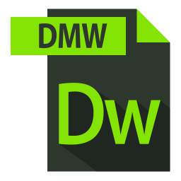 adobe, dmw extention, extention, file format icon