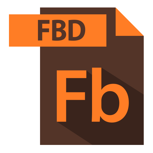 adobe, extention, fbd extention, file format icon