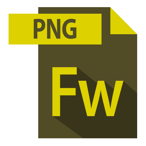 adobe, extention, file format, fw extention icon