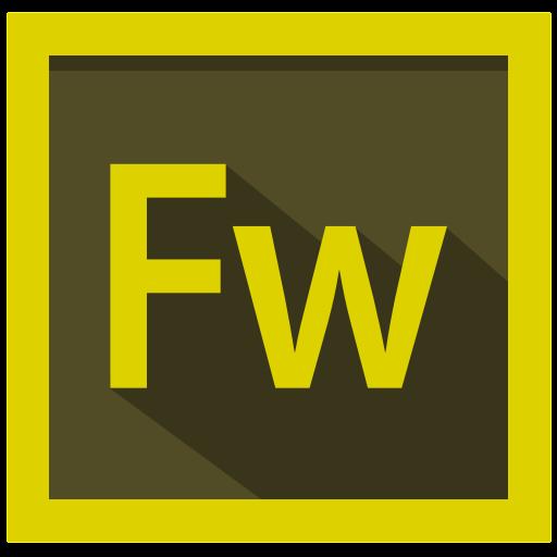 adobe, design, fireworks, fireworks logo icon