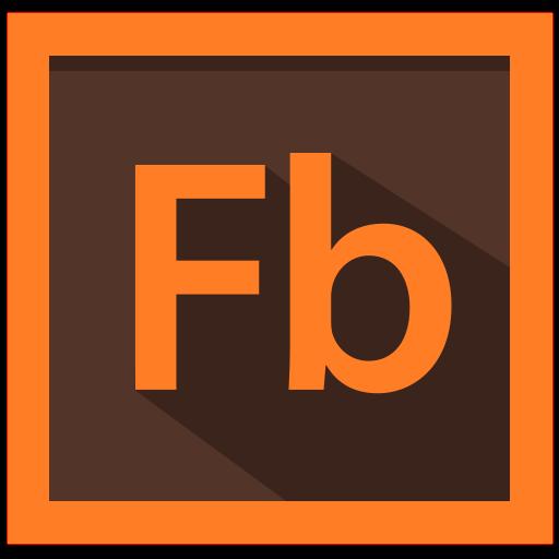adobe, design, flash builder, flash builder logo icon