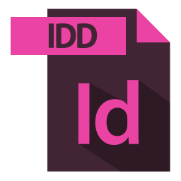 adobe, extention, file format, idd extention icon