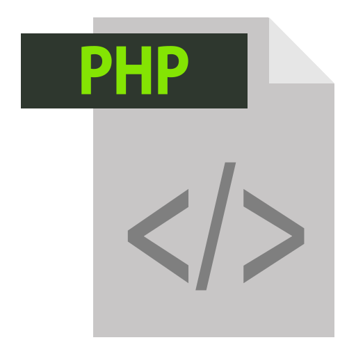 adobe, extention, file format, php, php extention icon