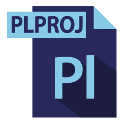 adobe, extention, file format, plproj extention icon