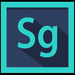 adobe, design, speedgrade, speedgrade logo icon