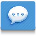 blue, imessages icon