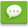 green, imessages icon