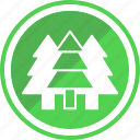 adventure, forest, fun, pine, tracking, travel, tree icon