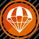 air, aircraft, balloon, balloons, hot icon
