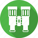 binoculars, find, forest, glass, search, tool, watch icon