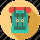 bag, camp, luggage, tour, travel icon