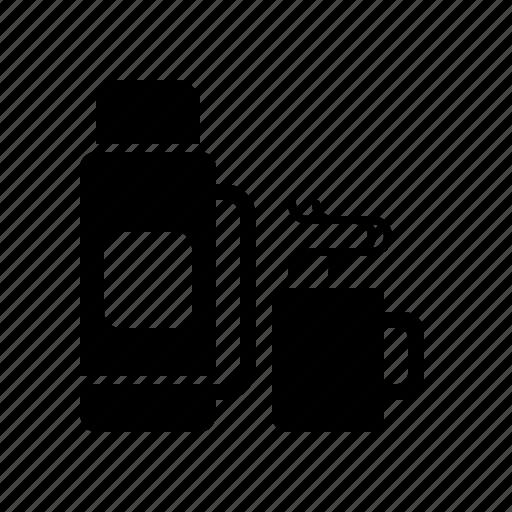 coffee, drink, hot, mug, tea, thermos icon