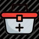 box, health, healthcare, medical icon