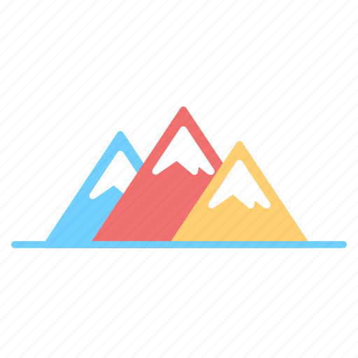 adventure, hill, mountain icon