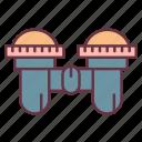 adventure, binocular, telescope icon