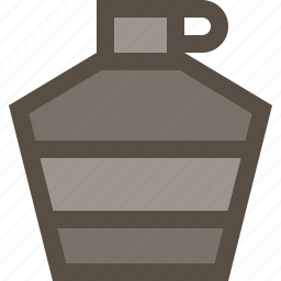 bottle, drink, supply, water icon