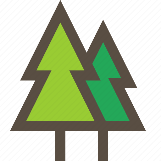 Forest, nature, pine, tree icon - Download on Iconfinder