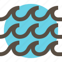 ocean, sea, water, wave icon