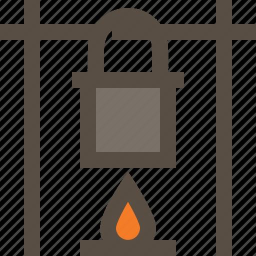 bonfire, campfire, cooking, outdoor icon