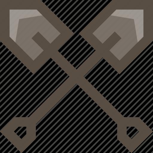 dig, hunt, shovel, treasure icon