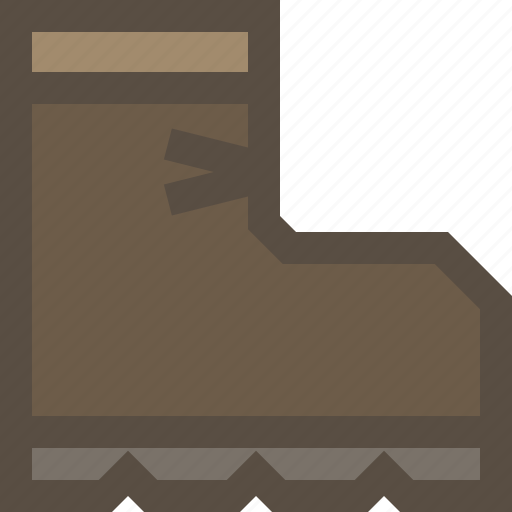 boot, footwear, outdoor, shoe icon