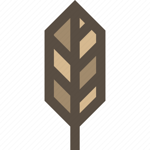 feather, leaf, nature, wild life icon
