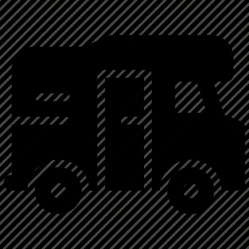 transport, travel, van, vehicle icon