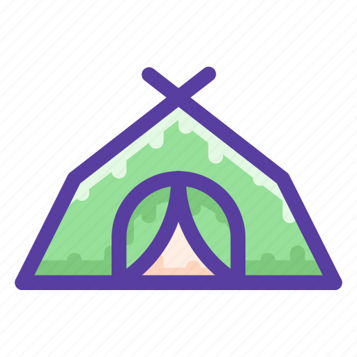 Adventure, camping, outdoor, tent icon - Download on Iconfinder